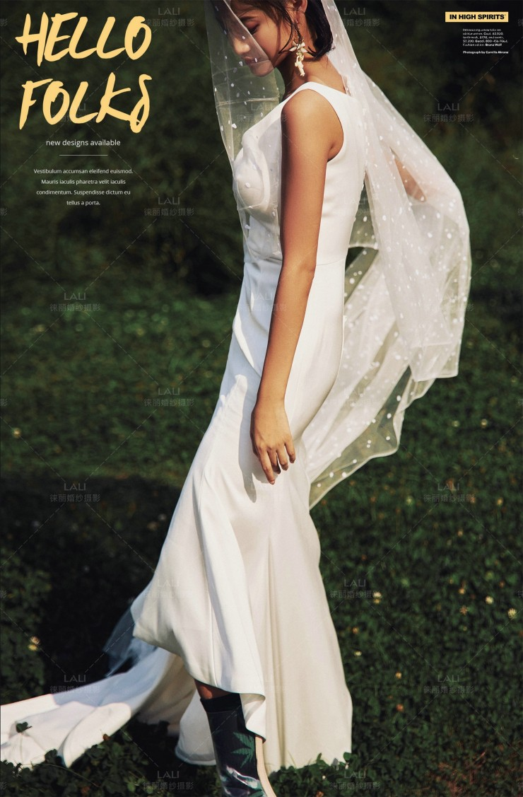 時裝婚紗,時尚婚紗,輕婚紗推薦,時尚風格輕婚紗,手工輕婚紗